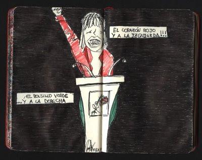 dibujo política