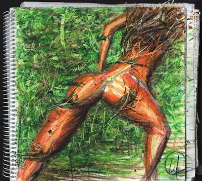 jungle queen drawing, dibujo la reina de la selva