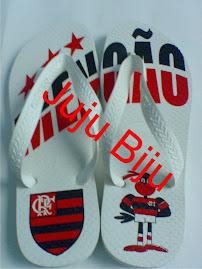 Sandália Time Futebol - Flamengo