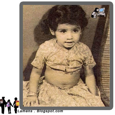 Raveena Tandon Childhood