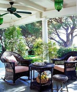 taman rumah : patio