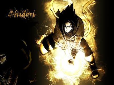 Sasuke and Chidori