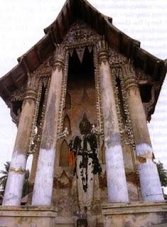 Ancient Temple is Wat Dusidaram Woravihara in Bangkok