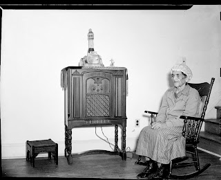 Miss Peebles and Mother St. Paul's, 1949