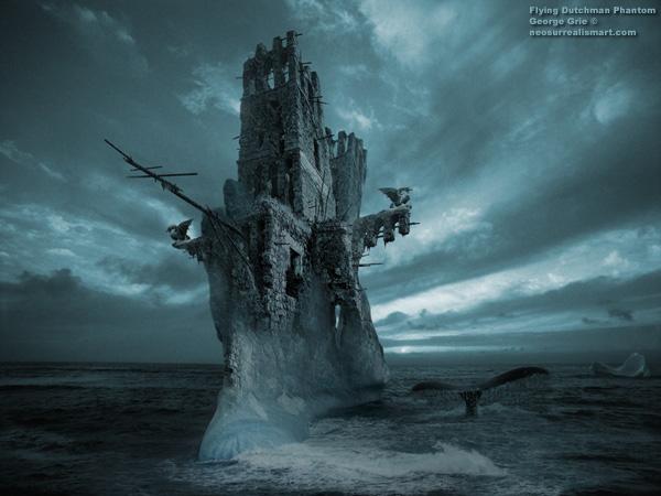 penampakan flying dutchman, kapal hantu hantu samudera, bajak laut terjenal kejam dan sadis, legenda perompak dunia