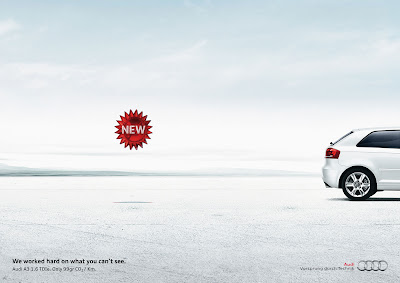 Publicité Audi A3 : version light