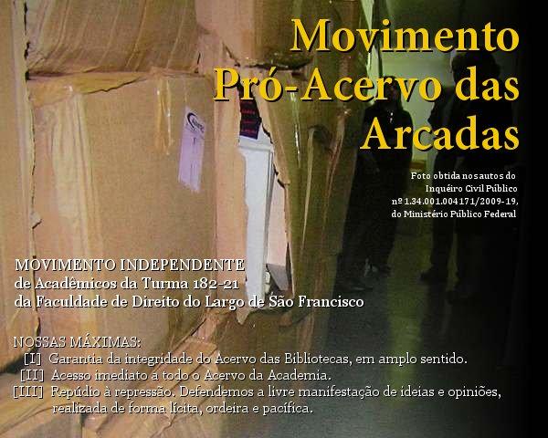 Movimento Pró-Acervo das Arcadas