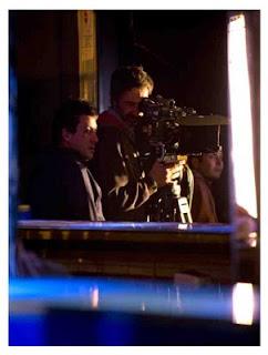Víctor Tejedor operando la cámara