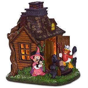 The little yellow house disney halloween decor for Disney halloween home decorations