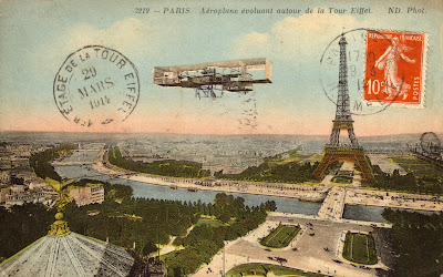 carte postale ancienne paris