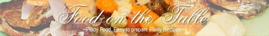 Recipes for Pinoys: Pinoy Recipes: Recipes for Pinoys: Easy to Cook Filipino Recipes