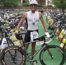 After the Race in the Bike Transition Area