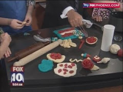 Face and Little Man Made Play Dough on Fox!