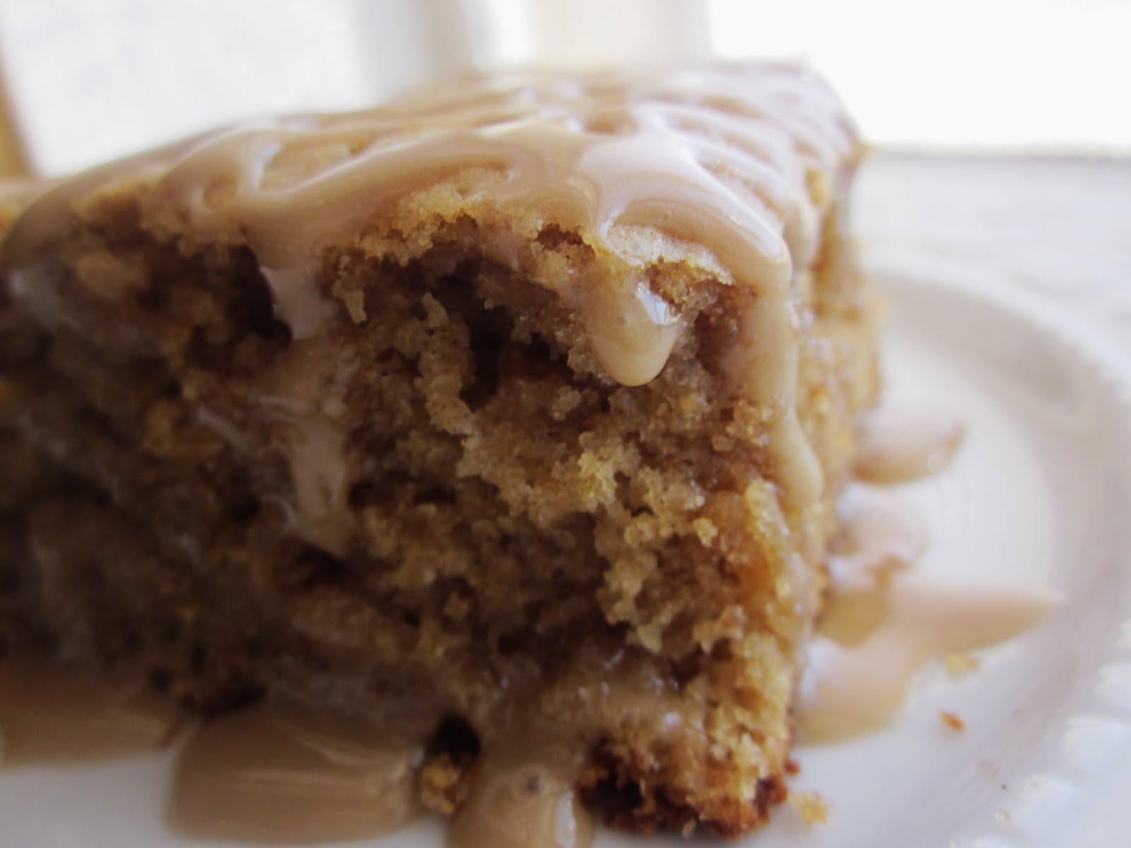 Chef Tess Bakeresse: Sourdough Maple Ginger Cake