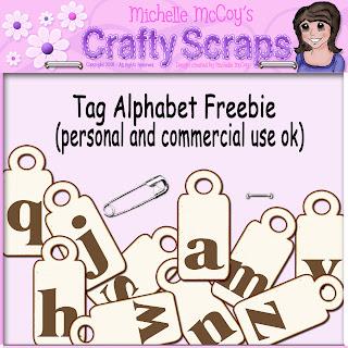 Cu Tag Alpha (Crafty Scraps) Tag+Alphabet+Freebie
