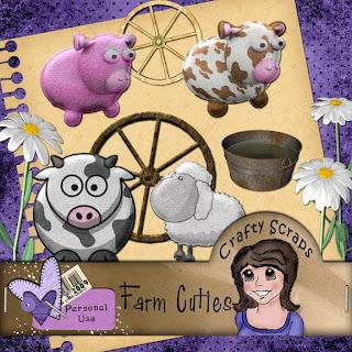 {Kits Digitais} Fazenda, Fazendinha - Página 4 Farm+Cuties