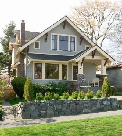 Cottage Plans & Designs - Craftsman Style : An American Tradition