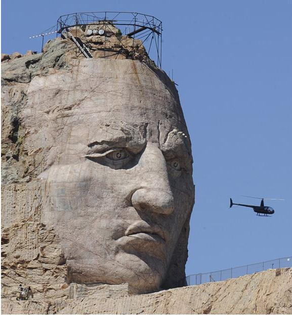 helicopter governor with Giant Sculpture Of Chief Crazy Horse on R44 Cadet additionally Sarah Palin Falls Victim Pranksters Accepting Air Invitation Hunt Baby Seals President Sarkozy furthermore Photos That Inspired The Good Jihadist also The Donald Landed Trump Touches Helicopter Iowa Launches War Worst Secretary State Clinton Beholden Donors Bush Adds Haven T Mistakes additionally Virgin Islands Bracing For Long Recovery After One Two Punch From Irma Maria.