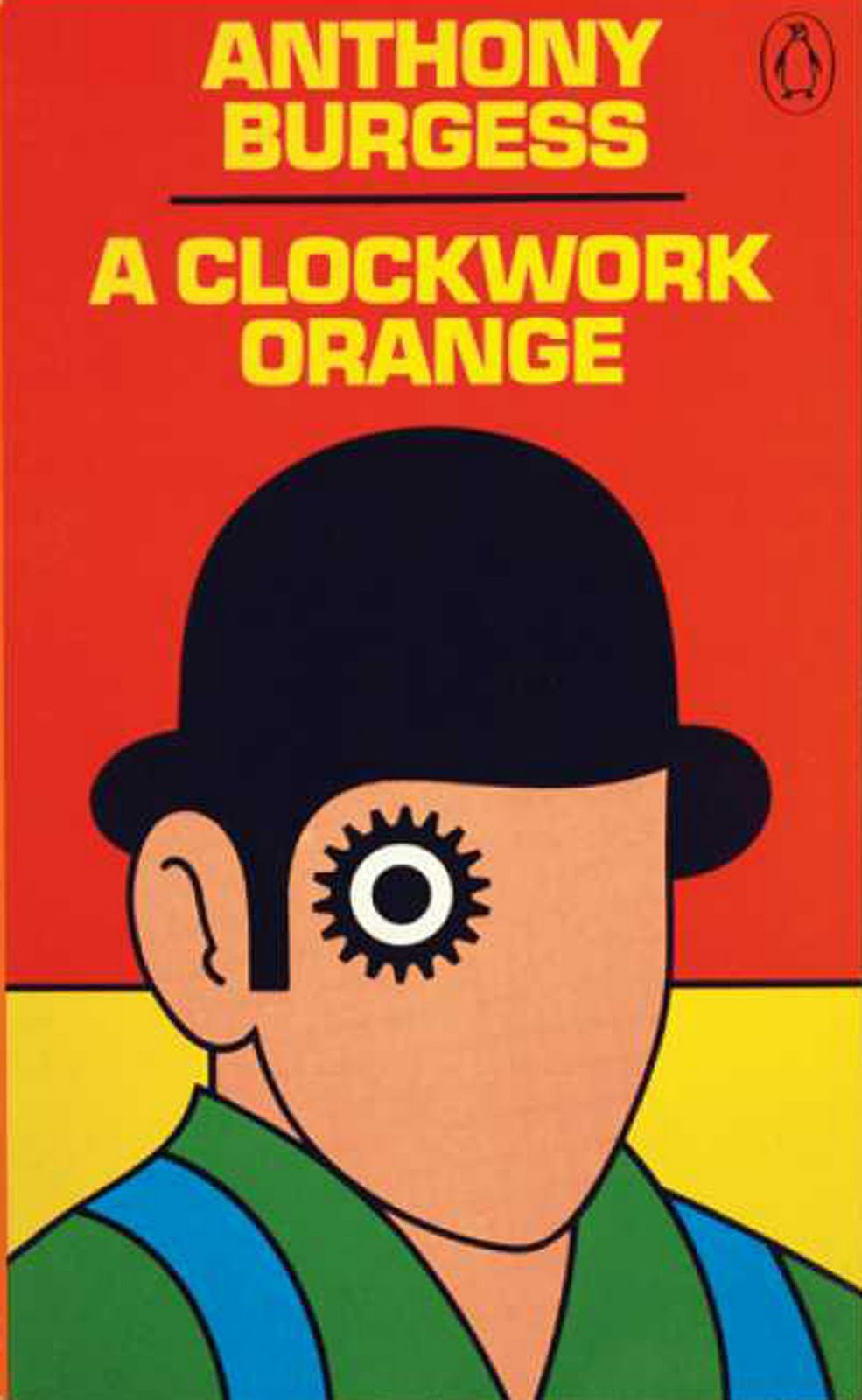 Cool Book Cover Uk ~ Clockwork orange book cover poster yes please