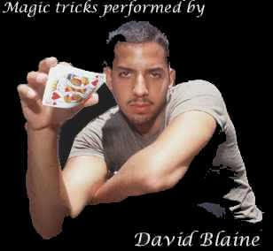 How to perform David Blaine's card magic trick