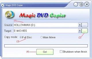 Download Magic DVD Copier v5.0
