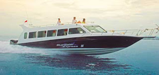 Blue Water Safari boat to Nusa Lembongan