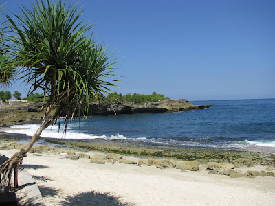 Sunset Beach, Nusa Lembongan - turtle release location