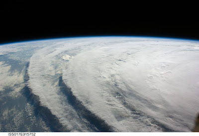 Hurricane Ike from the International Space Station, photo by NASA