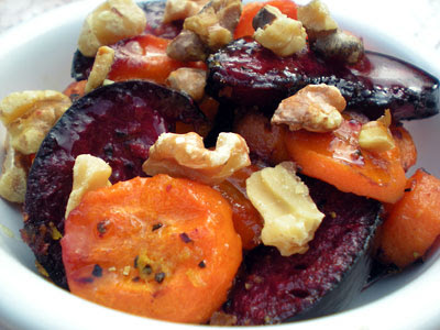 Roasted plum tsimmes