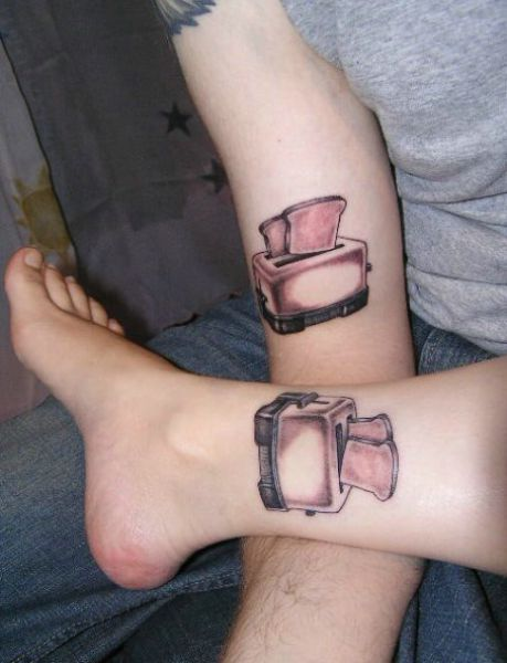 letter initial tattoos. funny tattoo ideas. funny