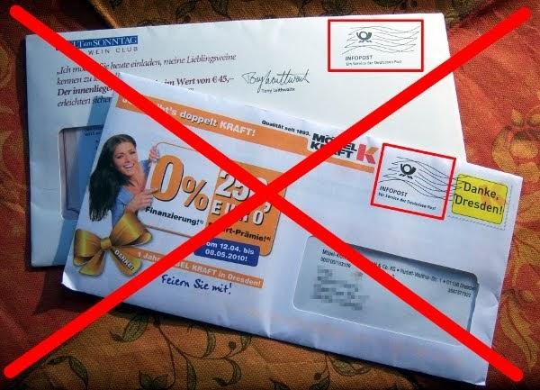 Kathrins Blog Unaufgeforderte Werbung Nicht Mehr Mit Mir