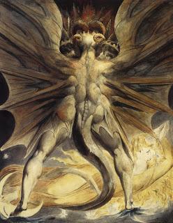 Dragons..W. Blake