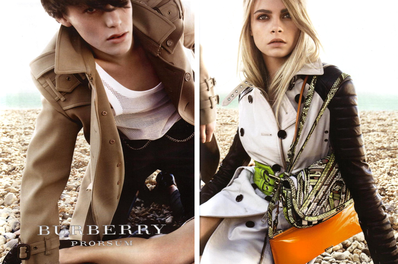Burberry Prorsum Spring 2011 Ad Campaign by Mario Testino ...
