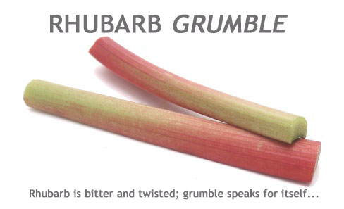 Rhubarb Grumble