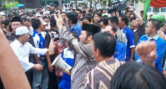 Zainuddin Hasan dan Ikang Fawzi untuk Lampung Selatan