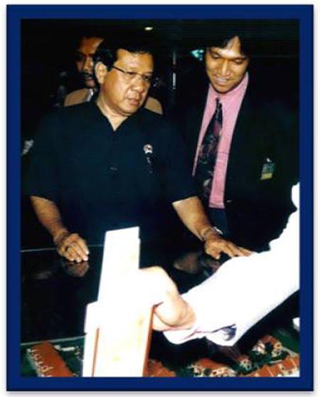 Belajar Ilmu Properti Langsung pada Sumbernya Menpera Dr. H. Akbar, Tanjung, Ikang Fawzi