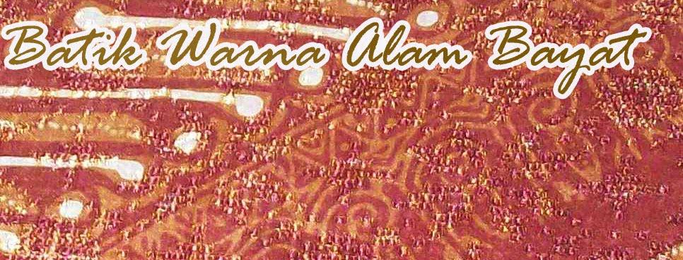 batik alam bayat