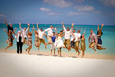 Traditional Cayman Beach Wedding Good Choice for Topeka, KS Couple - image 8