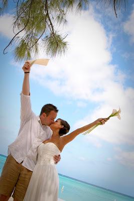 Traditional Cayman Beach Wedding Good Choice for Topeka, KS Couple - image 3