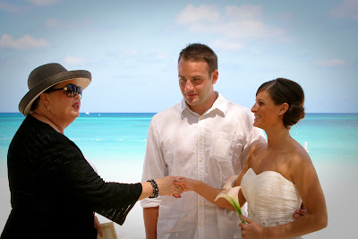 Traditional Cayman Beach Wedding Good Choice for Topeka, KS Couple - image 2