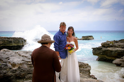Dramatic Waves for All-Inclusive Cruise Wedding - image 1