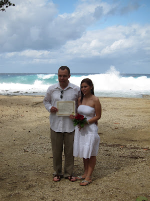 Stormy Weather Behind This Couple's Cayman Beach Wedding - image 6
