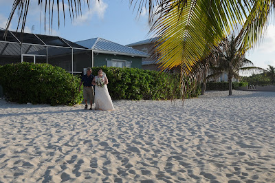 Sunset 'Cayman Sands' Wedding and Unity Sand Ceremony for Ohio couple - image 5