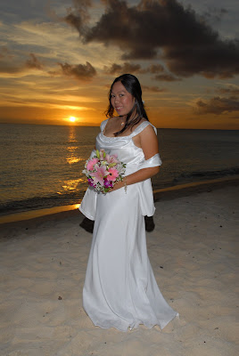 Locals Sunset Wedding at Marriott Courtyard Beach - image 4