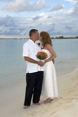 Stunningly Lovely Bride Stars at Governor's Beach - image 4