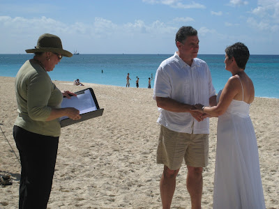 Seven Mile Beach Wedding Vows Renewal is Special - image 3