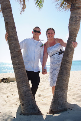 Footprints in the Sand - Cayman Islands Beach Wedding - image 2