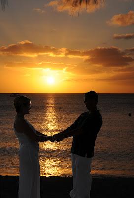 Grand Cayman Sunset Wedding Vow Renewal - image 6