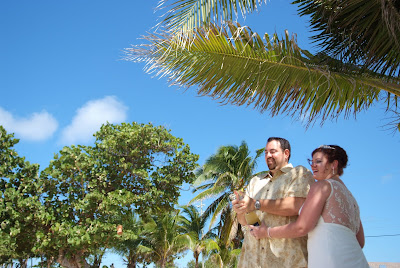 Seven Mile Beach Cruise Wedding for Port Richey Couple - image 4