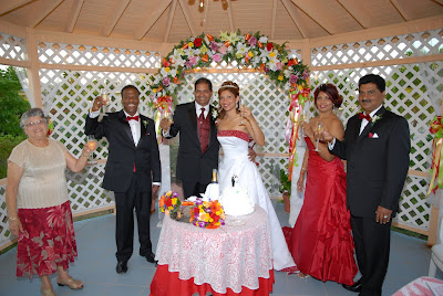 Colourful Cayman Wedding for Trinidadian Visitors - image 5